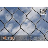 woven stainess steel wire rope mesh