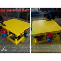 Wholesale Concrete Mould Vibrating Table from Hongyuan Vibratory Equipment from china suppliers