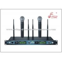 Wholesale FM UHF Handheld MIC Wireless Pa Speakers , Sound System Equipment 100M Received Distance from china suppliers