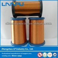 Wholesale Manufacturing high conductivity Enamel coated copper wire from china suppliers