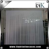 Wholesale Pipe and drape wedding backdrop curtain for Outdoor Decor from china suppliers