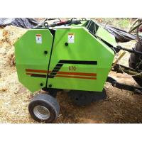 Wholesale High efficiency round hay baler for tractor from china suppliers