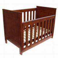 Quality Good quality New Zealand solid wooden baby crib baby cot baby bed for sale