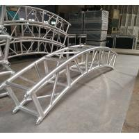 Wholesale 400*400mm Aluminum Alloy 6082-T6 Square Spigot Arch Lighting Truss / Aluminum Roof Truss from china suppliers
