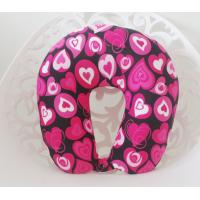 Wholesale U shaped micro beads neck pillow / decorative pillow fabric, OEM service offer from china suppliers
