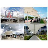 Wholesale Steel Work Tensile Membrane Roof Porch Shade Canopy Structures Saddle Shape from china suppliers