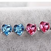 Wholesale Ref No.: 405007 Heart Touching earrings australia Elements Swarovski sets uk customizable birthstone jewelry from china suppliers