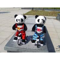 Wholesale Musical Bicycle Animal Panda Dancing and Singing and Encircling Electronic Panda Soft Toy from china suppliers