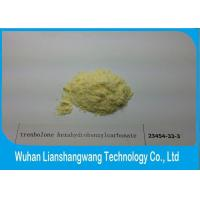 Wholesale 99% yellow Trenbolone Powder Hexahydrobenzyl Carbonate CAS no. 23454-33-3 from china suppliers