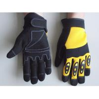 Wholesale Anti Shock leather palm carpenter, Plumbing and Heavy duty Mechanic Work Gloves from china suppliers