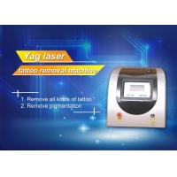 Wholesale Q Switch ND YAG Laser Pigment Removal Machine , Salon tattoo removal laser equipment from china suppliers