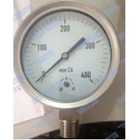 Wholesale Stainless Steel Low Pressure Gauge Capsule Type With Shrink Bayonet Bezel from china suppliers