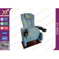 Wholesale Ergonomic Headrest Cinema Theater Chairs With Pushing Back And Soft Seat from china suppliers