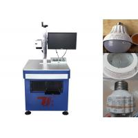 Wholesale Permanent Laser Printing Machine For Led Bulb Logo , Laser Logo Printing Machine from china suppliers