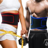 Lightweight Waist Lumbar Lower Back Trimmer Support Brace Belt