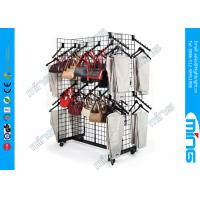 Wholesale Retail Gridwall Display Racks Gondola Racks With Waterfall Accessories from china suppliers