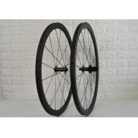 Wholesale Light Weight Carbon Spoke Wheels 18 / 21 Spoke Holes from china suppliers