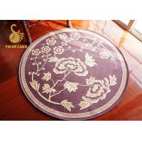 Wholesale Soft Round Contemporary Area Rugs , Entry Door Mats Non Deformation from china suppliers