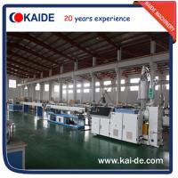 Buy cheap 30m/min PPR/PPRC water pipe extrusion equipment KAIDE from wholesalers