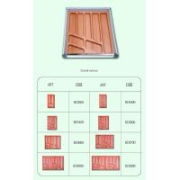Wholesale Beech Drawer Organizer|Woooden Cutlery Tray|Bamboo Flatware Box|Plastic Gadget Accessories BCH400 from china suppliers