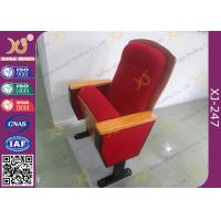 Wholesale Sound Absorption Conference Hall Seating Chair With Soft Closing Seat Pad Noise Free from china suppliers