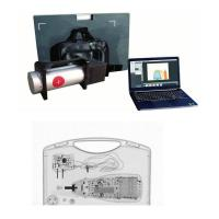 Buy cheap Portable Dual Energy 120kv X Ray Baggage Scanner Easy to Move from wholesalers