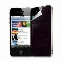 Wholesale Privacy Protector for Apple's iPhone 4G, with 0.19mm Thickness of Silicon Base from china suppliers