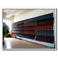 Wholesale Shingle Stone Sand Chip Coated Roof Tile Panel, Roofing Tiles Sheet with South Korea Technology from china suppliers