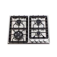 Wholesale 4  Burner / 6 Burner Gas Hob Built In Gas Cooktop with Stainless Steel Top Panel from china suppliers
