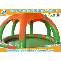 Wholesale Round Inflatable Water Walking Ball Pool With Detachable Air Tent For Zorb Ball from china suppliers