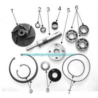 Buy cheap CAD / CAM  CAE casting pump spare parts ISO9001 / BV with polishing, sand blasting from wholesalers