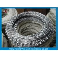 Wholesale Multi Type Stainless Steel Razor Wire / Barbed Wire Roll For Grass Boundary from china suppliers