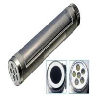 Wholesale 6 LEDs Aluminum alloy solar torch from china suppliers