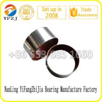 Wholesale reliable bearing factory Zinc plating bush /du bush/ lead free bush for auto parts from china suppliers