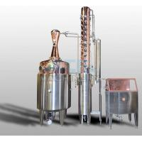 Wholesale 200L 500L 1000L Red Copper Alcohol Vodka Pot Still Distiller from china suppliers