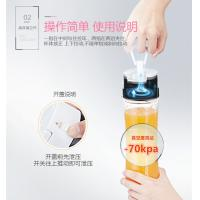 Wholesale SANS Unique Portable bottle stores vacuum by Hand 0.6L Keep  food and liquid longer fresh GK-PB01 from china suppliers