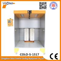 Wholesale Two Fliters Manual Powder Coating Booth For Car wheel Bike Parts In Stock from china suppliers