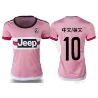Wholesale Club Team Womens Soccer Jerseys Juventus Pink ladies Football Shirt from china suppliers