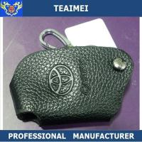 Wholesale Black Real Cow Leather Car Key Remote Case For Toyota Reiz Yaris from china suppliers