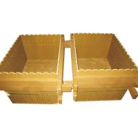 Wholesale Waterproof WPC Outdoor Furniture , Recyclable Wood Plastic Composite Flower Pot from china suppliers