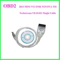 Wholesale 2013 MINI VCI FOR TOYOTA TIS Techstream V8.10.021 Single Cable from china suppliers