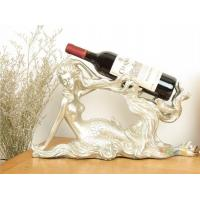 Wholesale best selling Mermaid Shaped Beauty Series Wine Rack For Display from china suppliers