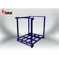Wholesale Three  Layer  Industrial Solid Square Stillages Rack For Warehouse from china suppliers