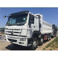 Buy cheap 25m3 40 Tons Heavy Duty Dump Truck With 12 Wheels 371hp CNHTC Engine Right Hand Drive from wholesalers