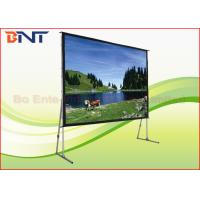 Wholesale Aluminum Alloy Frame Portable Projection Projector Screen Front And Rear Projection Screen from china suppliers