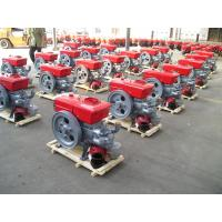 Wholesale 12 horse power single cylinder 4 stroke diesel engine swirl combustion system S195 from china suppliers