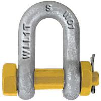 Wholesale GRADE S DEE SHACKLE WITH SAFETY PINS AS2741 from china suppliers