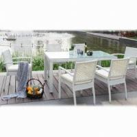 Wholesale Garden Outdoor Patio Furniture, Made of Aluminum + PE Rattan from china suppliers