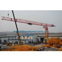 Wholesale PT7532 Flat Top Tower Crane 75mts Working Jib 20t Load Without Head Type from china suppliers