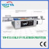 Buy cheap High speed and high resolution uv led flatbed printer Kyocera 2513 from wholesalers